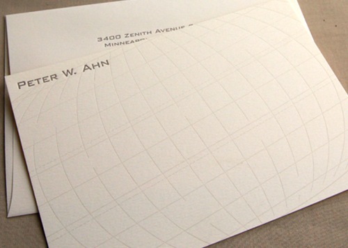Hemisphere Stationery